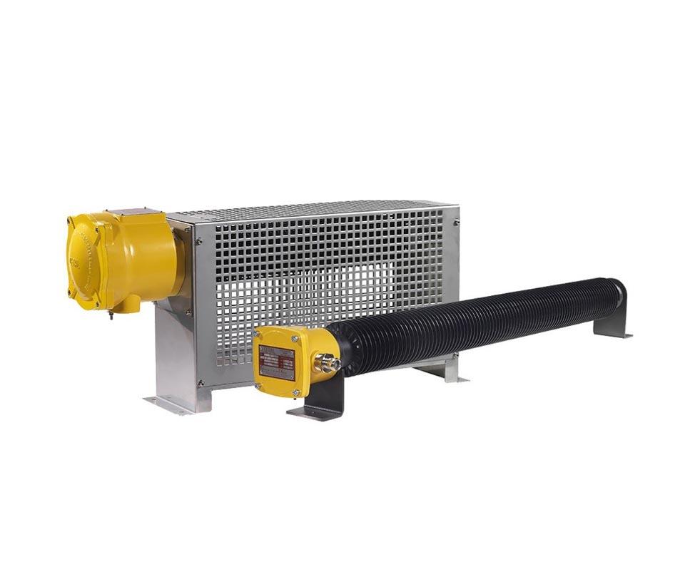 Tööstusik ATEX radiaator koos termostaadiga